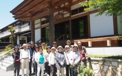 第3回TSKI健康ウオークを開催 5月12日(木) 白山神社と称名寺を訪ねる
