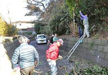 「今泉台緑地ボランティア」団体を発足及び第1回KickOff作業