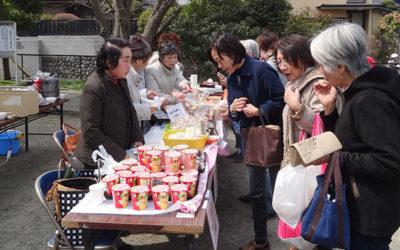 「第2回今泉台マルシェ」開催:豚汁人気、食品売り場が賑わい
