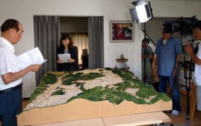 NHK放送大学取材 ~いずみサロン、菜園などを撮影