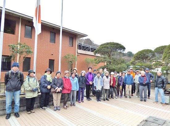 健康ウオーク(中級・散策編)第1回を開催:新春・荒井沢市民の森を楽しもう!