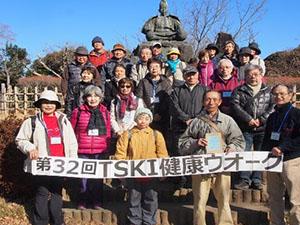 第32回健康ウオーク「新春寺社巡り」実施1月21日(月)