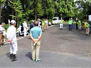 台風後の「NPOみどりのレンジャー」散在ガ池公園・飛地&付近の大剪定で付近住民は大感謝