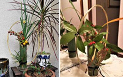 竹細工 工芸技能の伝承:正月飾りの制作教室2件