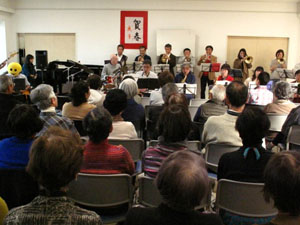第2回NPO会員向けJAZZコンサート開催さる