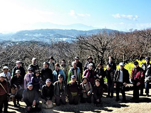 TSKI健康ハイク・第24回:二宮・吾妻山公園の菜の花ハイク