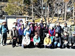 TSKI健康ハイク・第25回:新春・太閤一夜城史跡巡り&(みかん山)ハイク