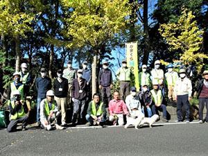 町内会・NPO TSKI協働:みどりのレンジャー活動、ついに実施される!