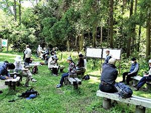 4月20日 TSKI健康ハイク:新緑の中、藤沢市・新林公園を歩く!
